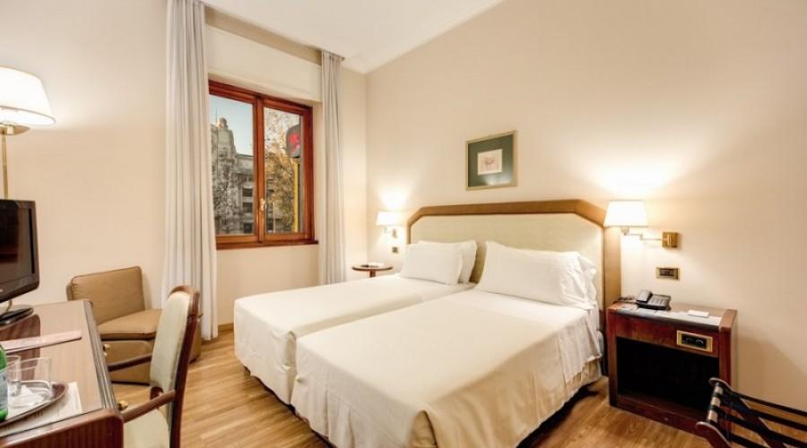 Camera Doppia con letti singoli in stazione centrale Milano | Hotel ...